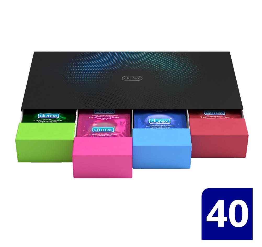 durex-surprise-me-premium-variety-pack-ποικιλία-με-επιλεγμένα-προφυλακτικά-σε-premium-κασετίνα-40-τεμάχια