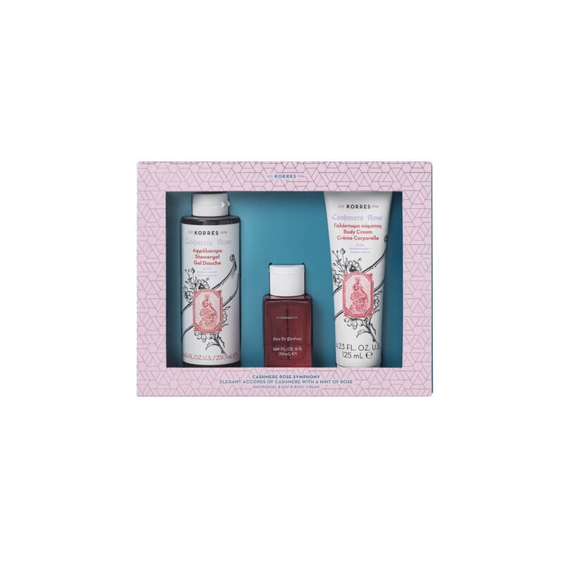korres-set-cashmere-rose-αφρόλουτρο-250ml-cashmere-rose-eau-de-parfum-50ml-cashmere-rose-γαλάκτωμα-σώματος-125ml